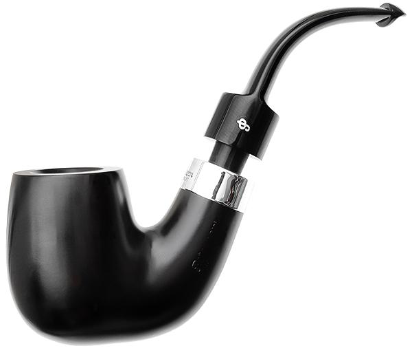 House Pipe Ebony Bent P-Lip