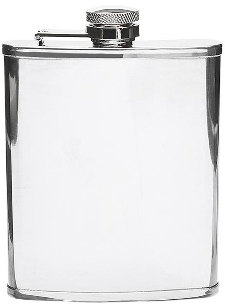 Peterson Flask Polished Chrome (6oz)