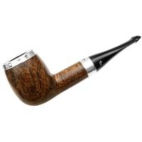 Peterson House Pipe Oak Silver Cap Billiard P-Lip