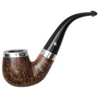 Peterson Flame Grain Silver Cap (221) Fishtail
