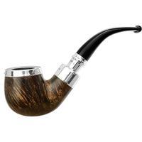 Peterson Flame Grain Spigot with Silver Cap (221) Fishtail