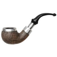 Peterson Sandblasted Spigot with Silver Cap (03) Fishtail